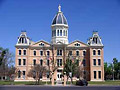 Presidio County Courthouse in Marfa, Texas